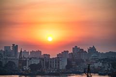 Mumbai Harbour sunset (matmatson) Tags: sunset india harbour mumbai hafen indien amazingsun matmatson