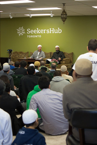 "Shaykh Yahya Rhodus at SeekersHub, Toronto and Seminar Series: Worship, Coffee and The Meaning of Life • <a style=""font-size:0.8em;"" href=""http://www.flickr.com/photos/88425658@N03/26746125422/"" target=""_blank"">View on Flickr</a>"