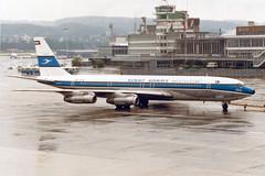 "Kuwait Airways Boeing 707-369C 9K-ACM  ""Failaka"" (Kambui) Tags: airplanes planes aviones avions kloten boeing707 zrh flugzeuge  avies failaka kuwaitairways aeroplani  9kacm"