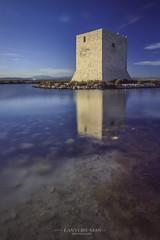Torre de Tamarit (www.lanternman.es) Tags: santa espaa water mar spain agua europa torre alicante fortaleza torreta pola exposicion reflejos larga crepuscular huerta transparencias filtros polarizador espaa4europa