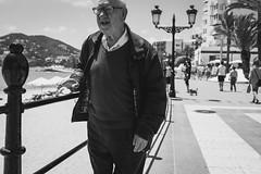 People from Ibiza (Studio Fused) Tags: santa street old travel viaje sea portrait sky people bw white mountain man black blanco canon vintage landscape photography mar calle y gente negro oldman paisaje ibiza cielo eivissa montaa isla hombre eulalia