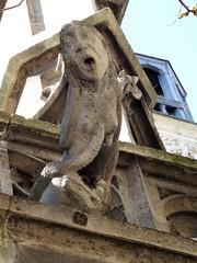 Gargouille, glise Saint Merri, Paris (Jeanne Menj) Tags: paris gargouille glisesaintmerri