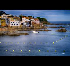 Bouys (EddyB) Tags: sea seascape marina boats mar europa europe fuji catalonia catalunya barcas fujinon catalua calelladepalafrugell eddyb xt1 coastlinevillage xf1855f284mm