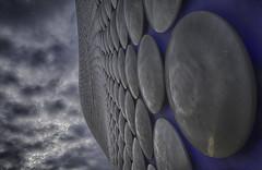 Week Twenty - Sliders Sunday (Damien Walmsley) Tags: sky clouds birmingham moody selfridges discs sliderssunday googlenik