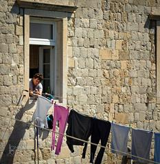 Hanging laundry-Jlombard (joshualombard) Tags: croatia laundry hr dubrovnik oldcity dubrovakoneretvanskaupanija dubrovakoneretvanskaupanij