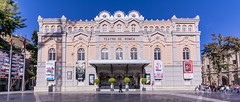 Teatro Romea - Murcia (archtkt) Tags: city travel urban espaa building tourism architecture facade teatro spain europe view angle traditional wide culture landmark front architectural murcia destination es elevation feature teatre romea regindemurcia archtkt