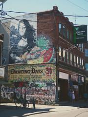 Urban Vibes (AngelK32) Tags: street urban streetart toronto ontario canada mannequin vintage graffiti downtown monalisa kitlens olympus kensingtonmarket em10 mirrorless 1442mm microfourthirds