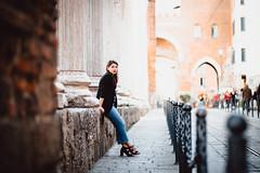 The heart of Milan. (ikhals) Tags: street portrait urban italy milan vsco vscofilm