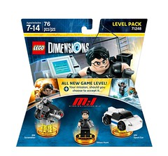 LEGO Dimensions Level Pack 71248 Mission Impossible box (hello_bricks) Tags: lego dimensions legodimensions year2 videogame jeuvido pack mi missionimpossible tomcruise ethanhunt 71248