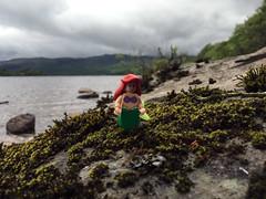 Scottish mermaid (Gamabomb) Tags: loch lomond scotland mermaid minifig