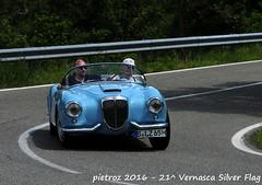 DSC_6578 - Lancia Aurelia B24 America - 1955 - Desinger Kai - Le24ToursDupont (pietroz) Tags: silver photo foto photos flag historic fotos pietro storico zoccola 21 storiche vernasca pietroz