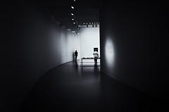 new age music (Lamson Noswen (c'lamson)) Tags: blackandwhite museum modern mono washingtondc lowlight modernart exhibit minimalism lamson hirschhornmuseum