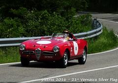 DSC_6586 - Alfa Romeo Giulietta Spider Sebring - 1956 - Carrisi Antonio - del Portello (pietroz) Tags: silver photo foto photos flag historic fotos pietro storico zoccola 21 storiche vernasca pietroz