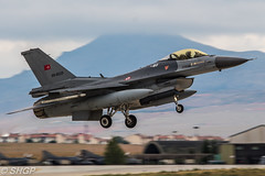 F-16C Fighting Falcon, Turkish Air Force, Anatolian Eagle 2016, Turkey (harrison-green) Tags: pakistan canon turkey airplane eos force eagle outdoor aircraft aviation air jet sigma f16 falcon vehicle fighting turkish nato anatolian 2016 f16c 700d 150500mm
