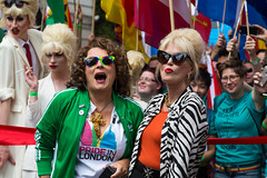 Pride in London 2016 (Mikepaws) Tags: uk greatbritain gay celebrity london westminster lesbian movie unitedkingdom pride parade celebration event lgbt actress eddie annual patsy absolutelyfabulous jennifersaunders joannalumley 2016 greaterlondon