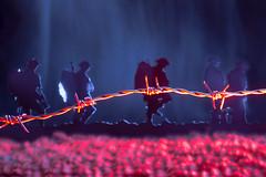 100.  183-366. (FadeToBlackLP) Tags: silhouette remember sad rip battle sombre soldiers brave remembrance striking poppie lightart somme longexposurephotography
