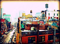 """Downtown Graffiti in NYC • <a style=""""font-size:0.8em;"""" href=""""http://www.flickr.com/photos/23470437@N08/6876362202/"""" target=""""_blank"""">View on Flickr</a>"""