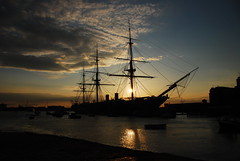 WARRIOR, Portsmouth (Ugborough Exile) Tags: uk england nikon ships hampshire portsmouth warrior d80