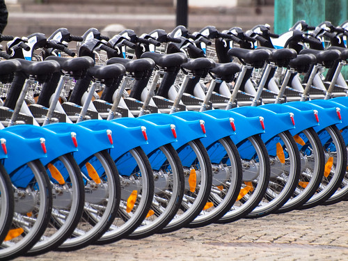 118/366 - Blue is our bikes