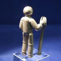 Engineer - Bubble Men (trompevenlo) Tags: sculpture man metal bronze steel mechanic engineer tool wrench 3dprint