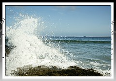 Splash (s.penman) Tags: sea beach rock lewis shore splash isles autofocus stornoway