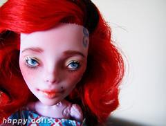 pic5 (Hellohappylisa) Tags: hello cute monster ball happy for high opera doll ebay sweet sale auction adorable kawaii bjd custom phantom happydolls jointed operetta repaint