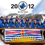 BC Ski Team 2012