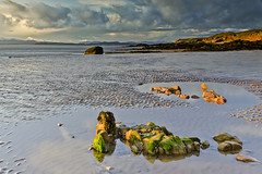 (John Ormerod) Tags: light sunset sea beach clouds bay seaside interestingness interesting nikon rocks flickr lancashire explore filters halfmoonbay irishsea sidelight morecambebay heysham explored d7000