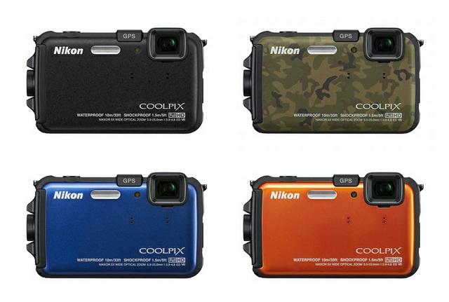 尼康Nikon Coolpix AW100 三防GPS数码相机 购物车促销$268.99