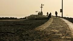(cinzia_wuthering heights) Tags: sea lighthouse beach faro mare playa spiaggia grado friuli