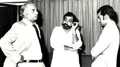 ZAB weighing his politcal options with'son' Ghulam Mustafa Khar (Doc Kazi) Tags: pakistan heritage history prime president ali zab minister bhutto zulfikar