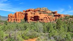Loy Canyon - lower west side - Sedona (Al_HikesAZ) Tags: red arizona usa mountain rock forest hiking secret country sedona canyon hike national wilderness redrock loy coconino coconinonationalforest redrocksecretmountainwilderness loycanyon azhike alhikesaz