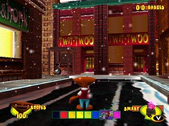 furballs_screen049 (furballs_dc) Tags: road door dog snow window pc lift screen beta sidewalk polarbear prototype dreamcast alpha honkhonk furballs twittwoo roofus furfighters lowereastquack newquackcity