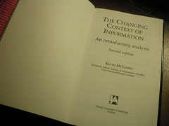 The changing context of information_20120519 (csmramsden) Tags: books information kevinmcgarry 2011pad 2012pad fp2012