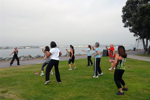 yoga exercise sandiego embarcadero bootcamp fitness cardio pilates morena zumba coretraining marinaparknorth