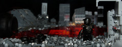 'Waistelands' -ThePurge- FP ([Stijn Oom]) Tags: brick modern grey shot lego painted perspective armor legos soldiers forced custom sideview affliction mocs moc purge waistelands dutchlego waisteland