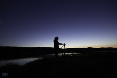 Chasing the light 146-365 (Funtographer) Tags: longexposure blue light sunset portrait orange white lake black silhouette yellow canon outdoors friend tripod alberta nightfall sigma1020 canon400d canonxti canon60d ruralalberta