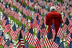 Sacrifice (arbyreed) Tags: memorial flag flags starsandstripes veterans sacrifice oldglory vets usflags oremcitycemetery arbyreed veteransday2012 oremveteransmemorial remembervets