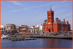 THE PIER HEAD , CARDIFF BAY --EXPLORED (henrhyde (gill)) Tags: wales docks cardiff cardiffbay pierhead