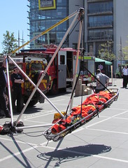 NIFRS / Specialist Rescue Team / Larkin Rescue Frame Demonstation (Nick 999) Tags: rescue house station square fun fire day central belfast frame custom emergency larkin 2012 999 srt demonstation northernirelandfireandrescueservice nifrs specialistrescueteam