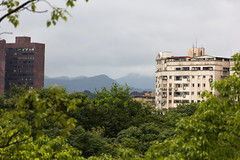 IMG_3337 (jaglazier) Tags: trees panorama mountains june gardens architecture clouds buildings landscapes apartments skyscrapers cities taiwan parks western taipei daanforestpark 20thcentury urbanism 2012 daan deciduoustrees 6112 concretebuildings 20hcentury 20thcenturyad copyright2012jamesaglazier