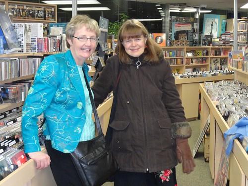 Tricia Baldwin and Alison Mackay at Grigorian