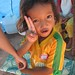 Child at displaced person's camp- Udong, Cambodia