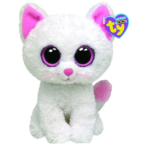 Ty Beanie Boos Cashmere The Cat可爱小猫毛绒公仔玩具$5.61