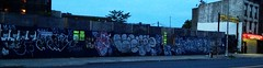 BTM crew over ATARI, MARTY, VIL, LEWY, SEN4, SY, ZA, ZNO, VESCR, HOUND (S C R A T C H I E S) Tags: nyc smart graffiti hound atari marty za xbs sy lewy vil btm sen4 zno vescr zaone