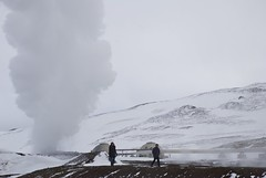 Steam grounds
