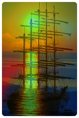 "Nave fantasma (wallace39 "" mud and glory "") Tags: sunset tramonto ghostship navefantasma"