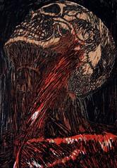 Anatomia para el artista (Deep vein thrombosis) Tags: art anatomy grabado linóleo