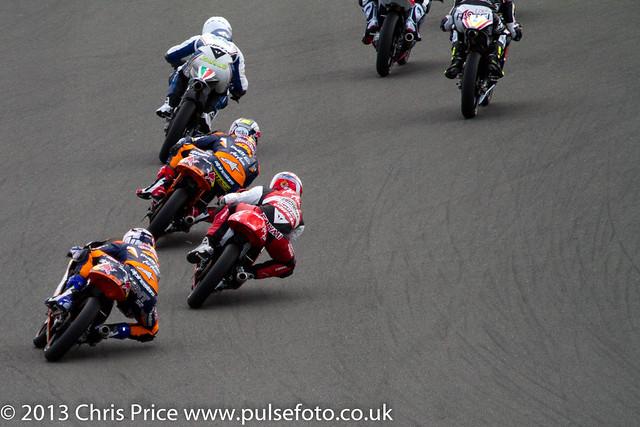 Danny Kent chasing