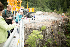 149|365 - Community Tours (Crooka) Tags: blue lake alex alaska project photography photo site construction community essay scaffolding tour dam photojournalism sitka build crook expansion